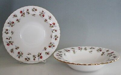 Royal Albert Winsome Set of 2 Rimmed Soup Bowls 8""