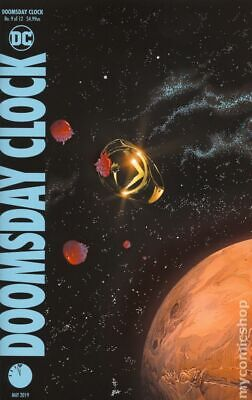 Doomsday Clock (DC) #9A 2019 Frank Ring Variant NM Stock Image