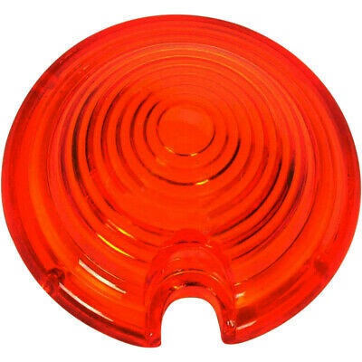 Drag Specialties Bullet Marker Light Replacement Lens Red (DS-280061)
