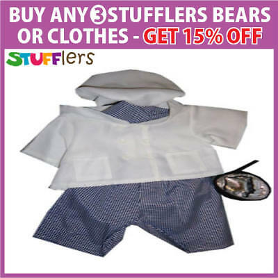 Chef Clothing Outfit by Stufflers – Soft Bear Clothing