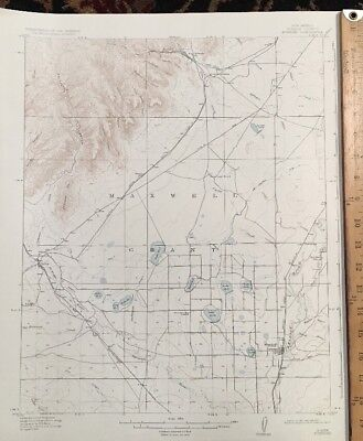 USGS Topographic Map 1917 Data KOEHLER QUADRANGLE, (COLFAX CO.)NEW MEXICO