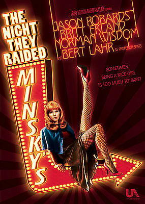 Night They Raided Minsky's • Racy, Hilarious Musical Hit • Dvd Plays Flawlessly