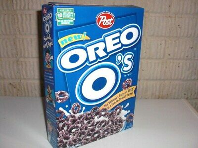 Vintage 1998 OREO O'S 1st issued box Cereal Box