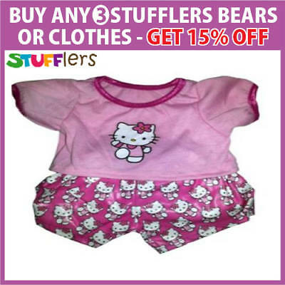 HELLO KITTY PJS pajamas Clothing Outfit Stufflers – Soft Bear Clothes