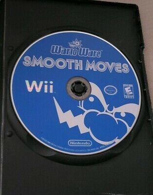 WarioWare: Smooth Moves (Nintendo Wii, 2007) Disc Only Generic case and artwork