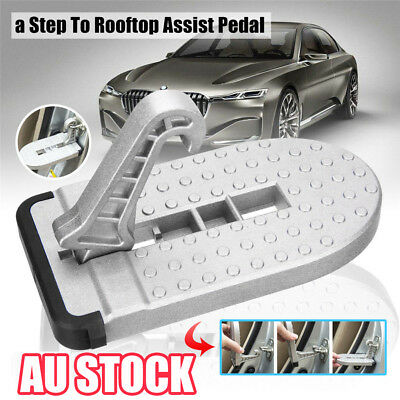 Doorstep Vehicle Access Roof Car Auto Door Step Latch Easily Rooftop Pedal QQ