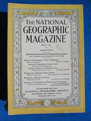 National Geographic Magazine May 1931 Vintage Ads Car Truck Advertising