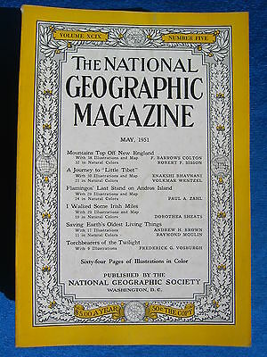 National Geographic Magazine May  1951 Vintage Ads Car Truck Advertising
