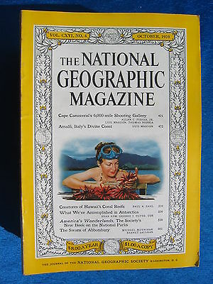 National Geographic Magazine October 1959 Vintage Ads Car Truck Advertising