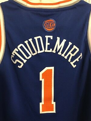 ea5327f4beb NEW Amare Stoudemire Adidas New York Knicks #1 NBA Jersey Size Large L Youth