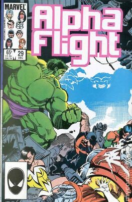 Alpha Flight (1st Series) #29 1985 VF Stock Image