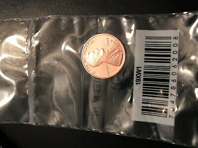2019 W Proof Lincoln Cent Penny  No envelope & No bad Scuffies -Read