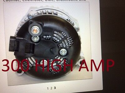 HIGH OUTPUT DENSO HAIRPIN ALTERNATOR CHEVROLET Hummer Tahoe Silverado  Escalade