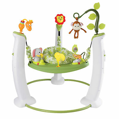 c956df488c8 EVENFLO EXERSAUCER JUMP Learn Stationary Jumper Jam Session Baby ...