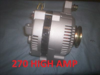 FORD MUSTANG 1-WIRE 3G LARGE CASE HD ALTERNATOR 1965 1975 270 High AMP Bronco