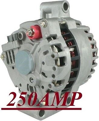 Alternator High Output Ford F-Series F550 E450 Super-Duty 6.0L V8 2005-2006 2007