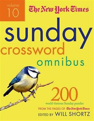 The New York Times Sunday Crossword Omnibus Vol  10 200 World- by New York Times
