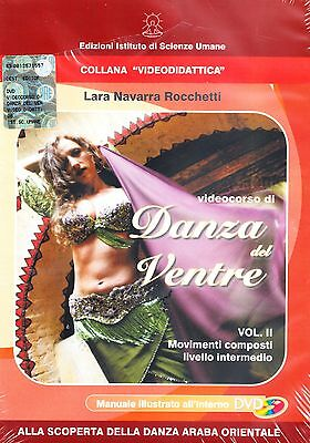 Videocorso DANZA DEL VENTRE VOL.2 IN DVD