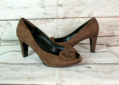 Paul Green Pumps in Rot Gr. D 38,5 UK 5,5
