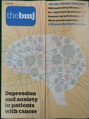 Bmj British Medical Journal 28 April 2018 Depression  Anxiety In Cancer Patients
