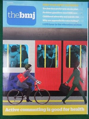 Bmj British Medical Journal 22 April 2017 Active Commuting Is Good For Health