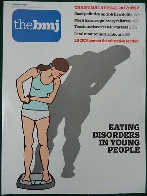 Bmj British Medical Journal 9 December 2017 Eating Disorders In Young People