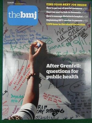 Bmj British Medical Journal 24 June 2017 After Grenfell Towers - Public Health