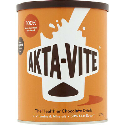 Akta Vite Drinking Chocolate 375g (1 Tin) More than just a drink