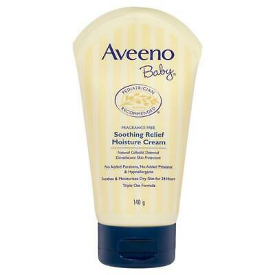 * Aveeno Baby Soothing Relief Cream 139mL Fragrance Free