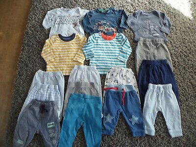 Boys Clothes Bundle 3-6 months Selection of Tops and Pants