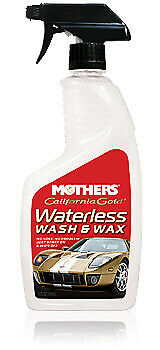 California Gold Waterles Wash and Wax 24oz. MOTHERS 5644