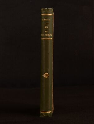 1834 Life of Mrs Siddons Sarah Siddons Tragedienne Thomas Campbell First Edition