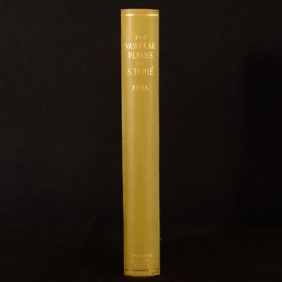 1944 Catalogue Vascular Plants of S. Tome Exell First Edition Illustrated
