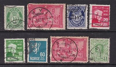 NORWAY ^^^^x8  used   CLASSICS   $$@ lar5163nor