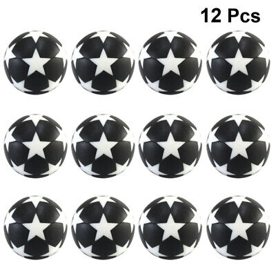 4 Palline Calcio Balilla Biliardino Pallone Champion's League Plastica 32Mm New