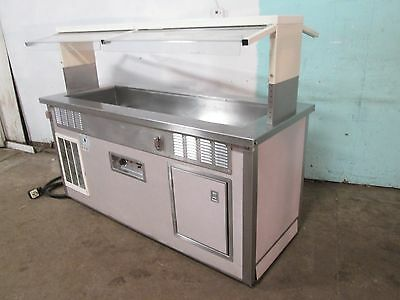 """""""DELFIELD"""" H.D. COMMERCIAL REFRIGERATED and HEATED -(HOT or COLD)- BUFFET TABLE"""