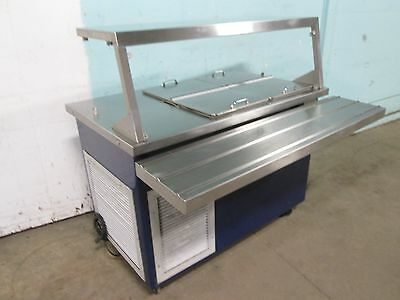 """""""Delfield"""" H.d.commercial Refrigerated Dairy Product Cafeteria Serving Station"""