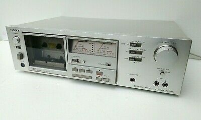 Vintage SONY TC-K55II MK Cassette Deck - Recently Serviced and demagnetized
