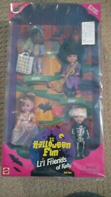Vintage•Mattel•Barbie•1998•Halloween Fun•Li'l Friends of Kelly•Target•Gift Set