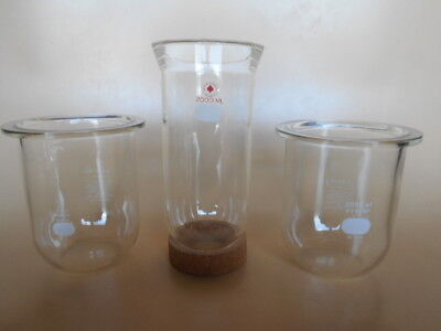 USED Your Choice of One Reaction Vessel, 2000 ml PLUS Options