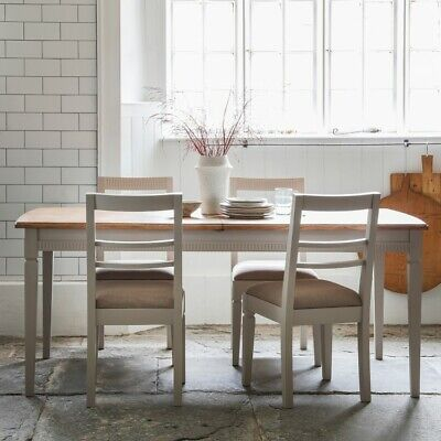 Frank Hudson Gallery Direct Bronte Extending Dining Table Taupe