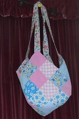 A.  Shoulder Honiton Pillow Bag / Also Small Round/Square Pillow.  Patchwork.