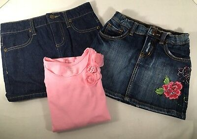 The Children's Place Clothing Lot Girls Sz 6 Skirts Shirts 3 Piece Lot *