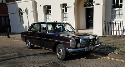 Mercedes Benz 200D w115 1975 LHD Spanish Imported and UK Registered (not w114)