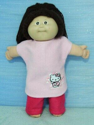 """16"""" CABBAGE PATCH Dolls Clothes / NIGHTGOWN & PANTS / pink~Hello Kitty"""