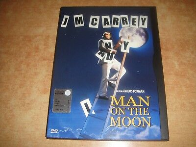Man On The Moon - Dvd Snapper (Jim Carrey)  Raro!