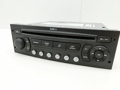 Car Radio Cd-Radio Rd4 N2 Mp3 for Citroen C8 807 02-08 7645129393