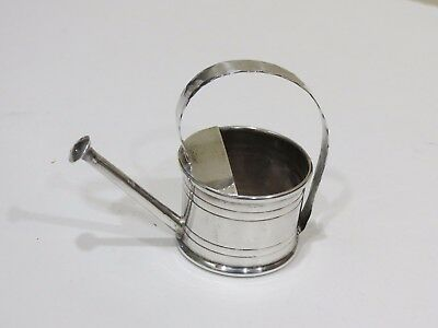 Vintage Cartier Sterling Silver Watering Can Vermouth Dispenser