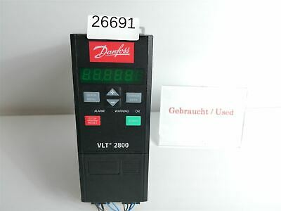 Danfoss Vlt2805ps2b20str1dbf00a00c0 Frequency Converter 1,3 Kva