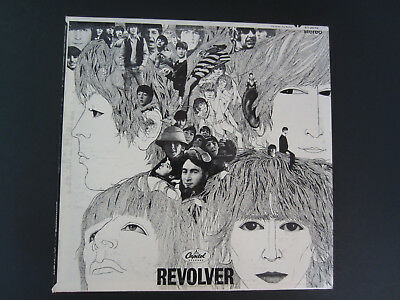 The Beatles-Revolver ST-2576 USA 1971 Stereo LP Vinyl Record Album - Near Mint